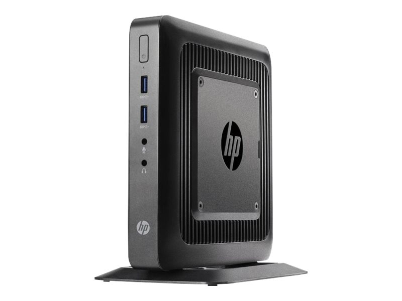 HP t520 Flexible Thin Client AMD DC GX-212JC 1.2GHz 4GB RAM 16GB Flash GbE WE864, G9F12AT#ABA, 17666247, Thin Client Hardware