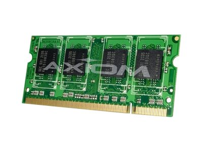 Axiom 1GB PC2-3200 DDR2 SDRAM SODIMM for Latitude D420, D510, D610, D810, X1, Precision Workstation M90, A0446874-AX