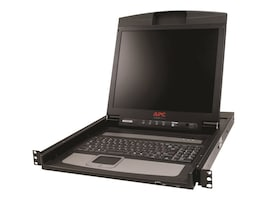 APC 17 Rack LCD Console, AP5717, 12167545, KVM Displays & Accessories