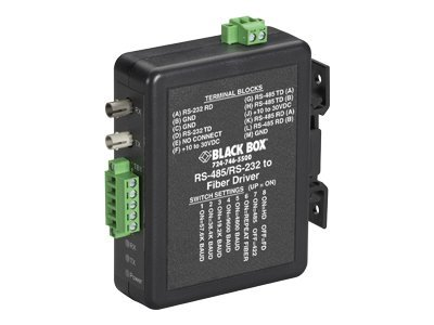 Black Box INDUSTRIAL DIN RAIL RS-232 RS-422 RS-485
