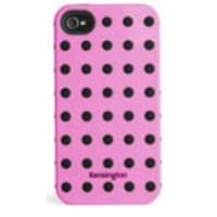 Kensington Combination Case for iPhone 4 & 4S, Pink, K39392US, 13467224, Carrying Cases - iPod
