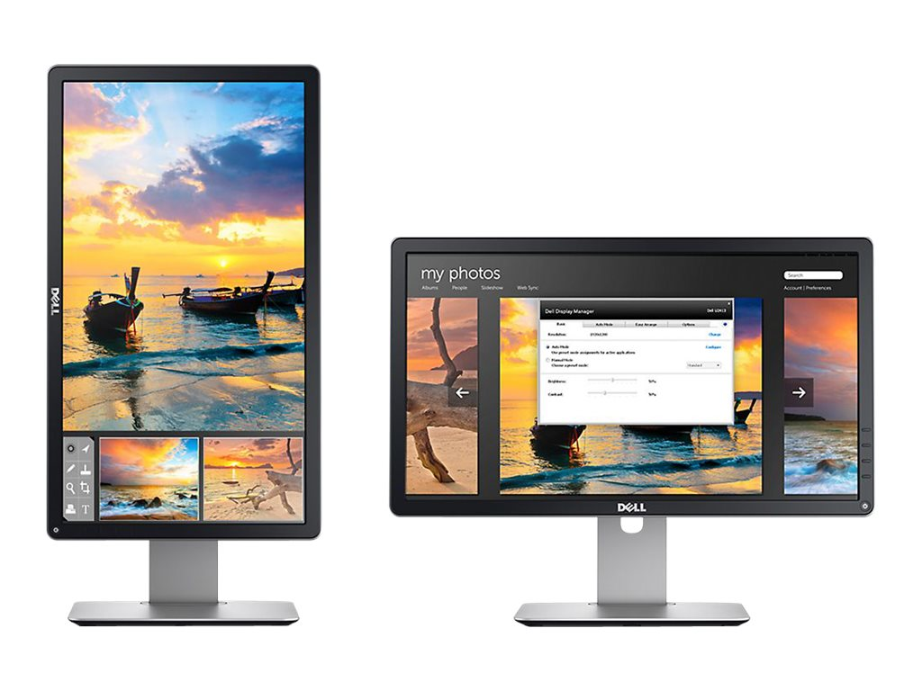 Dell 19.5 P2014H LED-LCD Monitor, Black