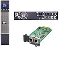 Eaton 5PX 2200VA Graphical LCD Line Int. 2U Rack-Tower UPS with Network-MS Card, 5PX2200RTN, 13628260, Battery Backup/UPS