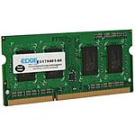 Edge 4GB PC3-12800 204-pin DDR3 SDRAM SODIMM for Select Models, PE231651, 13649124, Memory