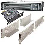 APC SmartUPS 2200VA 120V LCD 2U Rackmount UPS, Network Card 2, 2-post Mtg Kit