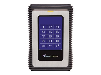Datalocker 1.5TB USB 3.0 DL3 Factor AES Encrypted External Hard Drive w  RFID 2, DL1500V32F