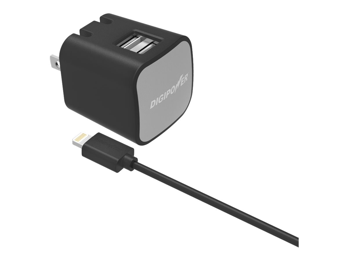 DigiPower Dual Wall Charger Kit, IS-AC2DL