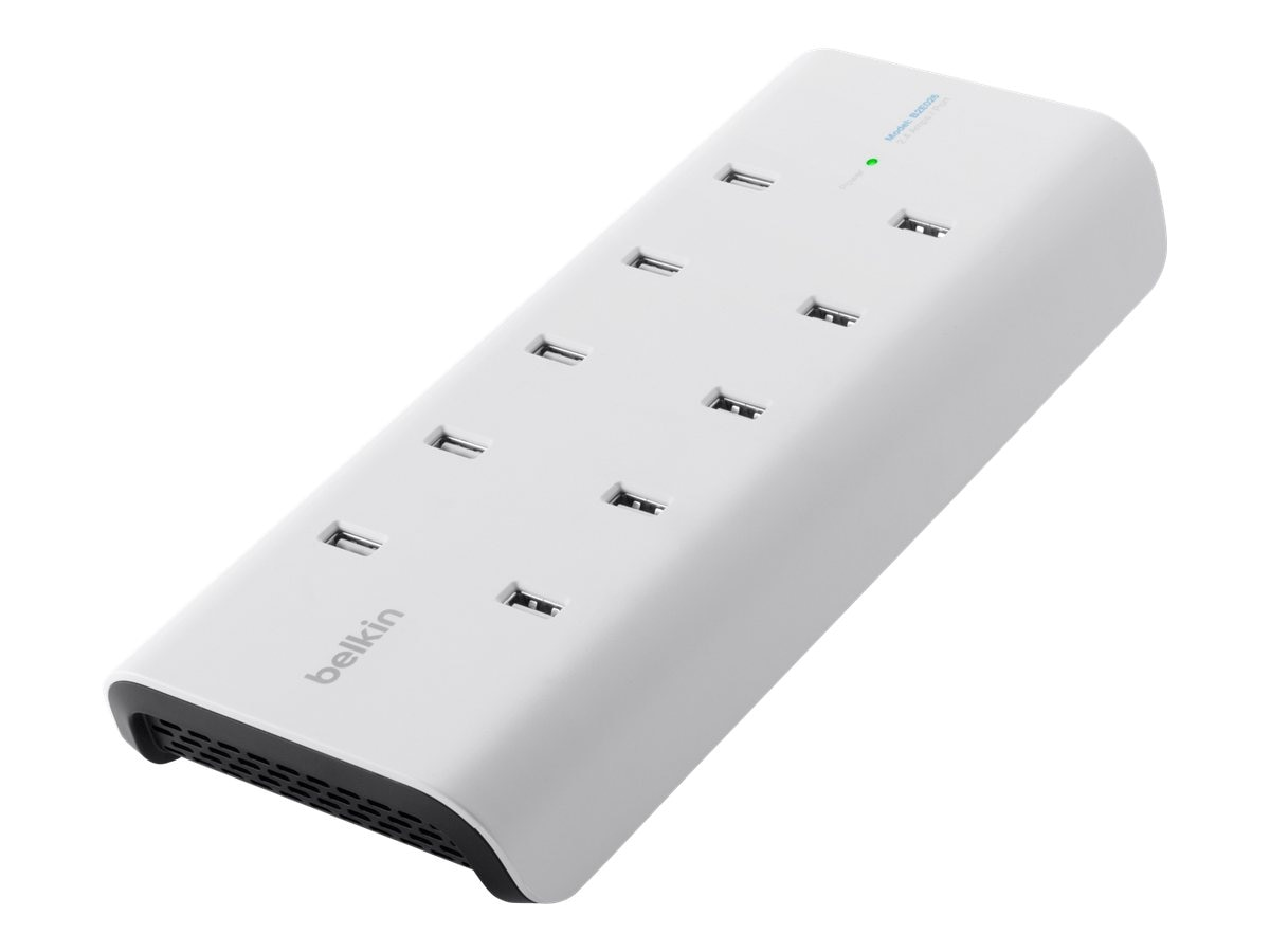 Belkin 10-Port USB Power Charger, B2E026