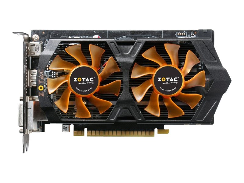 Zotac GeForce GTX 750 Ti PCIe 3.0 x16 Overclocked Graphics Card, 2GB GDDR5, ZT-70602-10M, 17420298, Graphics/Video Accelerators