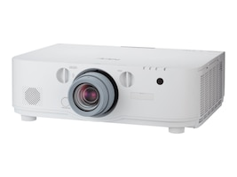 NEC NP-PA621X WXGA LCD Projector, 6200 Lumens, White with 1.5-3.0:1 Zoom Lens, NP-PA621X-13ZL, 17780568, Projectors