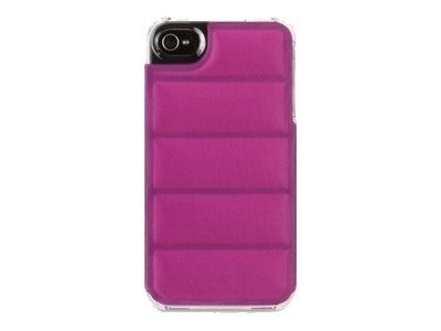 Griffin Elan Form Flight Case for iPhone 4, Orchid-Clear, GB03124, 13337155, Carrying Cases - Phones/PDAs