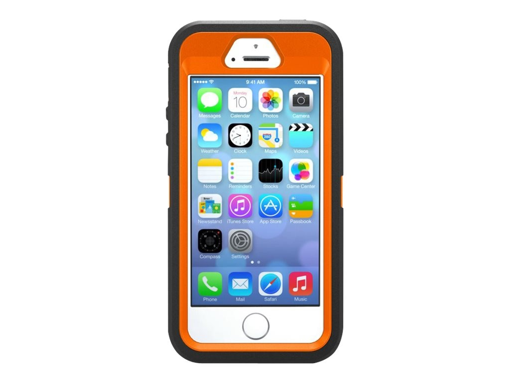 OtterBox Defender for iPhone 5S & 5, Max 4 Blaze, 77-33416, 16250629, Carrying Cases - Phones/PDAs