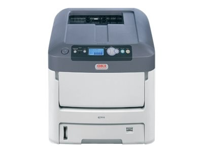 Oki C711dtn Digital Color Printer, 62433505, 11237759, Printers - Laser & LED (color)