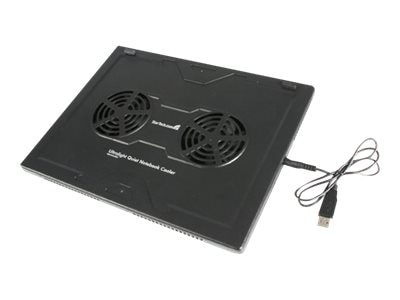 StarTech.com Lightweight Laptop Cooler with 2 Fans, NBCOOLERLE, 8247841, Cooling Systems/Fans