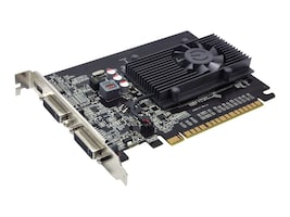 eVGA GeForce GT 610 PCIe 2.0 x16 Graphics Card, 1GB DDR3, 01G-P3-2616-KR, 14249456, Graphics/Video Accelerators