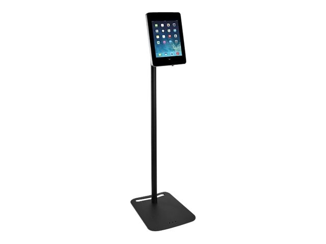 Tryten Locking iPad Pivot Floor Stand, Black