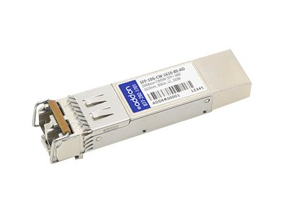 ACP-EP AddOn 10GBase-CWDM SFP+ Arista Compatible Transceiver, SFP-10G-CW-1610-80-AO, 27565790, Network Transceivers
