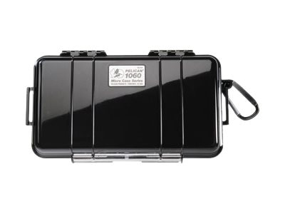 Pelican 1060 Solid Micro Case, Matching Liner, 8.25 x 4.25 x 2.25, Black