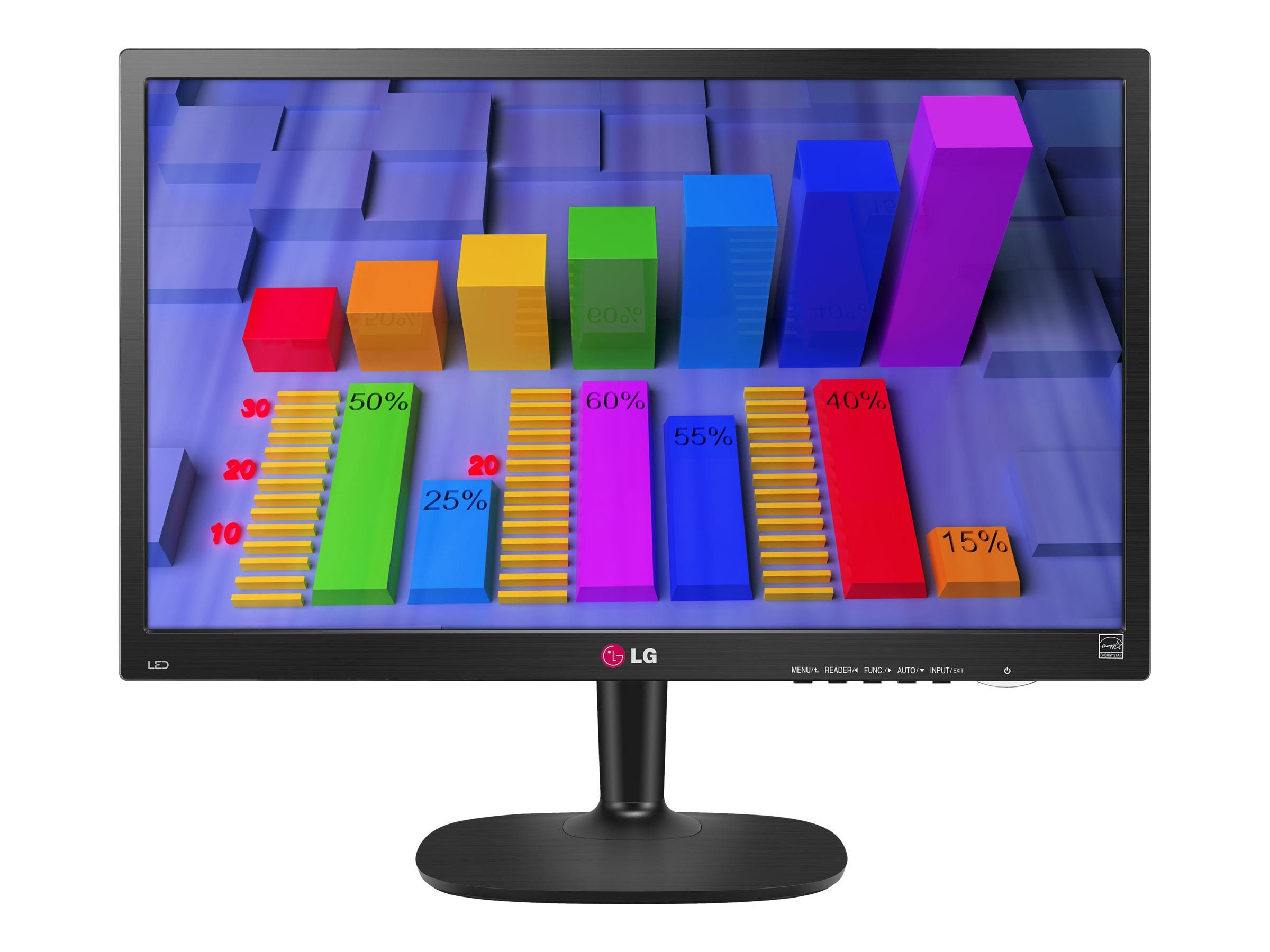 LG 27 MP34HQ-B Full HD LED-LCD Monitor, Black