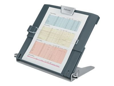 Fellowes In-Line Document Holder, Foldable, 12x8x2-1 2, Black, 8039401, 11279060, Office Supplies