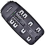 CyberPower Professional Series Home Office 2250 Joules, (8) Outlets, Phone Line Protection, 6ft Cord