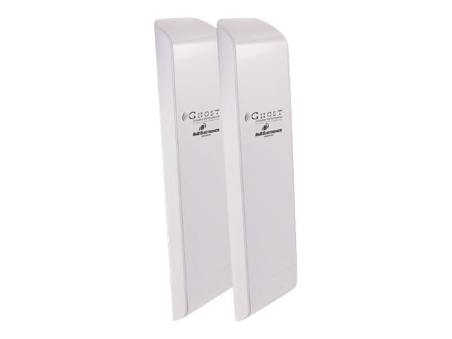 Quatech 5GHz Indoor Outdoor Wireless Ethernet Bridge (Sold In Pairs), GHOSTBRIDGE5, 13340119, Network Bridges