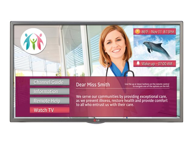 LG 32 LX570M LED-LCD Healthcare TV, Black