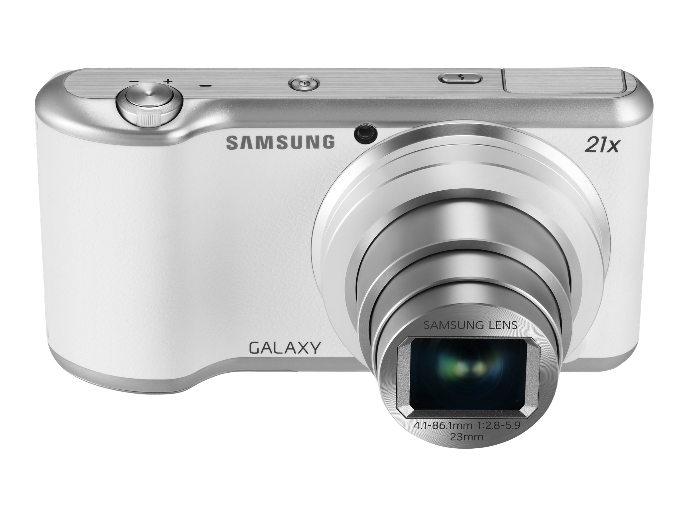 Samsung GALAXY Camera 2 Wi-Fi, 16.3MP, 21x Zoom, White, EK-GC200ZWAXAR, 30942269, Cameras - Digital - Point & Shoot