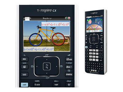 TI Nspire CX Handheld-Graphing Calculator, N3/CLM/1L1