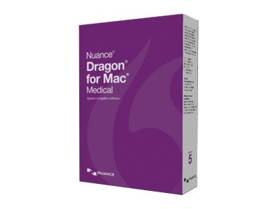 Nuance Dragon for Mac Medical 5.0 Upgrade DVD