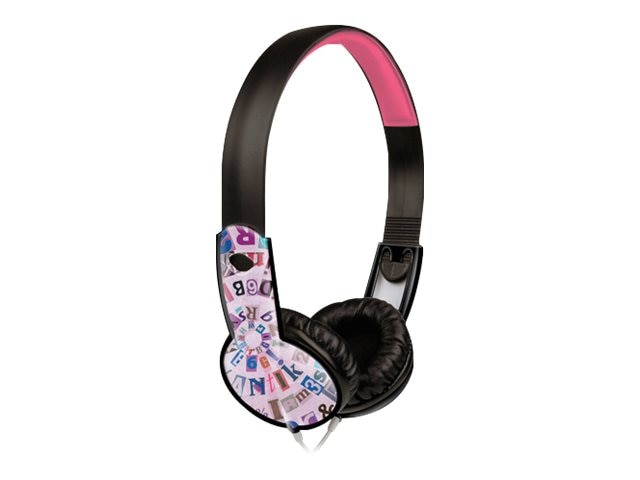 Maxell Safe Soundz Headphones, Ages 6-9, Girl, Purple