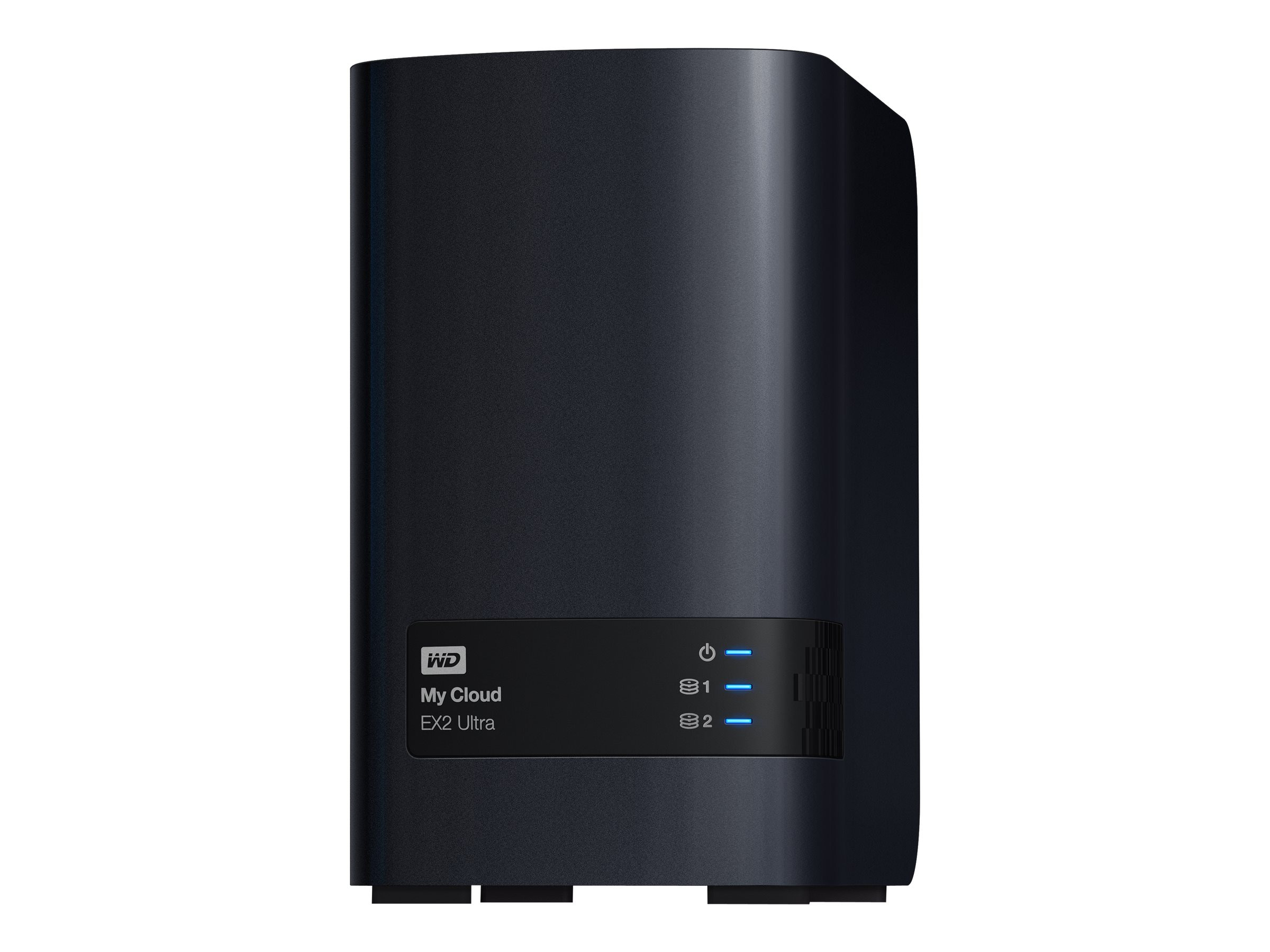 WD 16TB WD My Cloud EX2 Ultra Private Cloud NAS Storage, WDBVBZ0160JCH-NESN, 31866641, Network Attached Storage