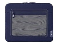 Belkin Vue Sleeve for iPad, Flint Gray Indigo Blue, F8N275TT130, 11528134, Protective & Dust Covers