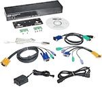 Tripp Lite External KVM over IP Server Remote Control with Power Port and Serial Control