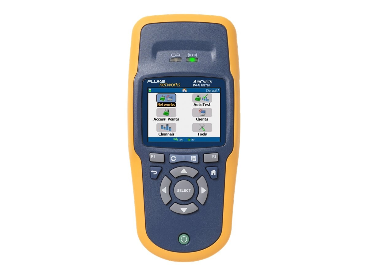 Fluke AirCheck Wi-Fi Tester, AIRCHECK, 11066347, Network Test Equipment