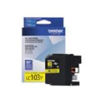 Brother Yellow LC103Y Innobella High Yield (XL Series) Ink Cartridge for the MFC-J4510DW, LC103Y, 14714805, Ink Cartridges & Ink Refill Kits