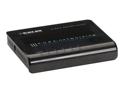 Black Box Pure Networking 5-Port FE Switch