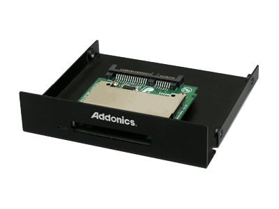 Addonics SATA CFast Adapter on 3.5 Bay Mounting Bracket