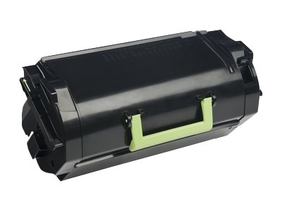 Lexmark Black 621X Extra High Yield Return Program Toner Cartridge, 62D1X00