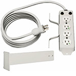 Tripp Lite Medical-Grade Power Strip, (4) Outlets, 10ft Cord, Cord Wrap System, Drip Shield