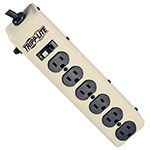 Tripp Lite Power Strip All Metal 120V 15A (6) 5-15R Outlets 5-15P Input 12.5ft Cord by Waber