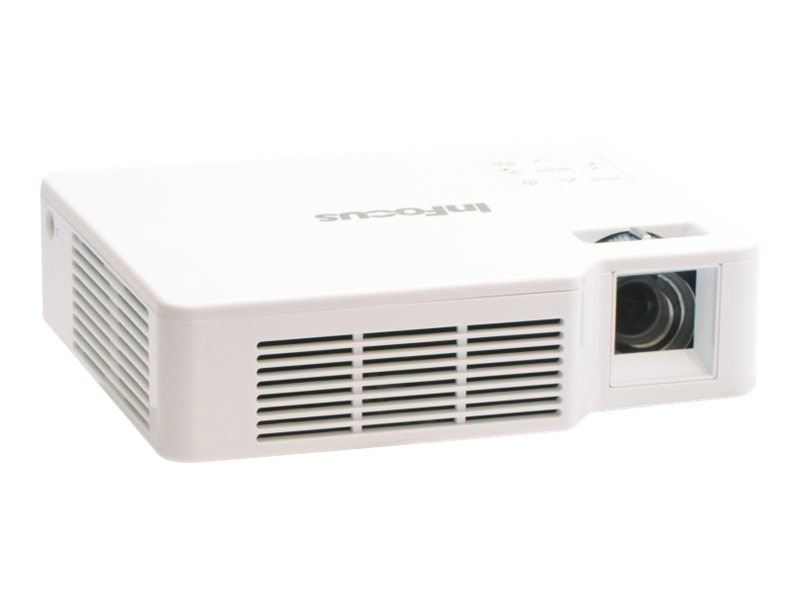 InFocus IN1142 WXGA DLP Projector, 700 Lumens, White, IN1142, 17336643, Projectors