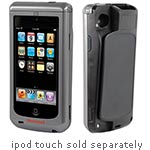 Honeywell Sled for iPod Touch 4G Std Range Imager Grn LED Aimer Battery USB Cable MSR Charger EasyDL Silv Blk