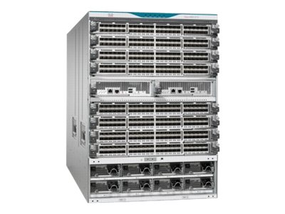 Cisco MDS 9710 Chassis No Power Supplies or Fans Included, DS-C9710, 16234805, Fibre Channel & SAN Switches