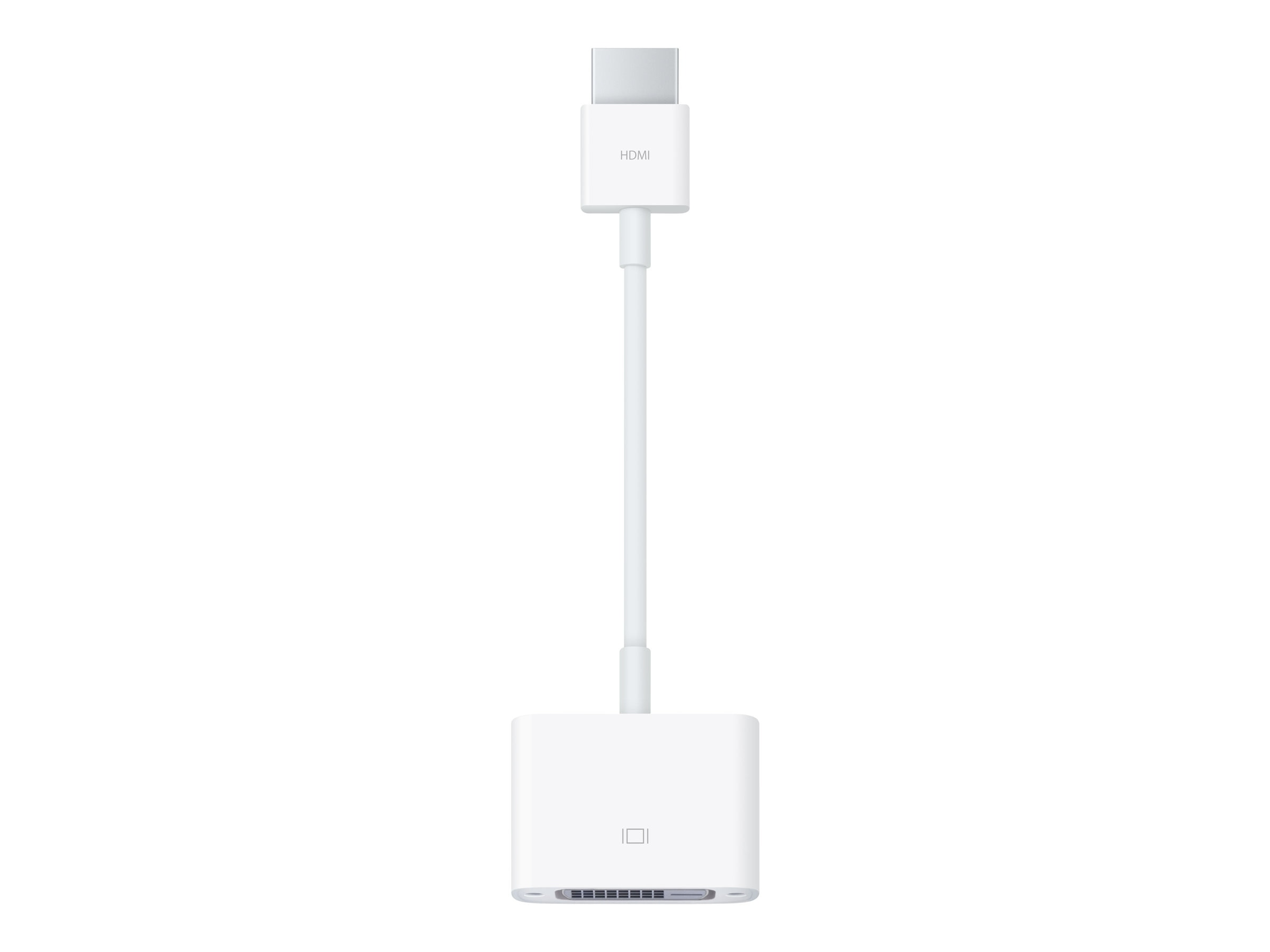 Apple HDMI to DVI M F Adapter, White