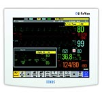 NDS 19 LifeVue LCD Resistive Touch Monitor with Audio Alarm, 90M3026, 14731824, Monitors - Medical