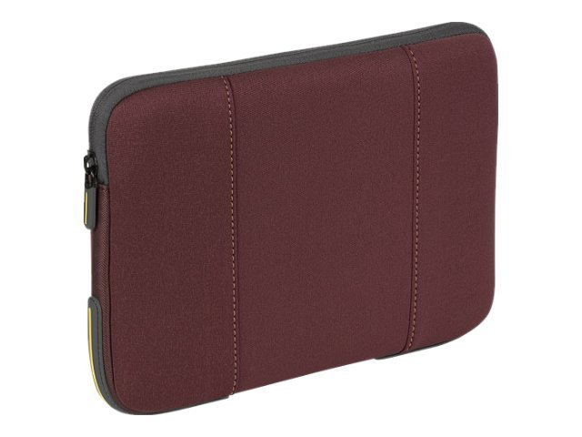 "Targus 10.2"" Impax Laptop Sleeve, Red, TSS20601US, 12249487, Protective & Dust Covers"
