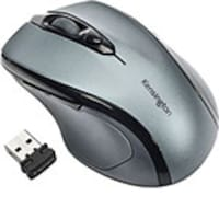 Kensington Pro Fit Mid-Size Wireless Mouse, Graphite Gray, K72423AM, 14796011, Mice & Cursor Control Devices