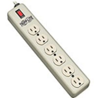 Tripp Lite Waber Power Strip, (6) Outlets, 6ft Cord, All Metal Housing, 6SPDX, 14802602, Power Strips