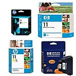 HP 11 Ink Cartridge Value Pack Bundle, C4810A/36A/37A/38A, 14810477, Ink Cartridges & Ink Refill Kits